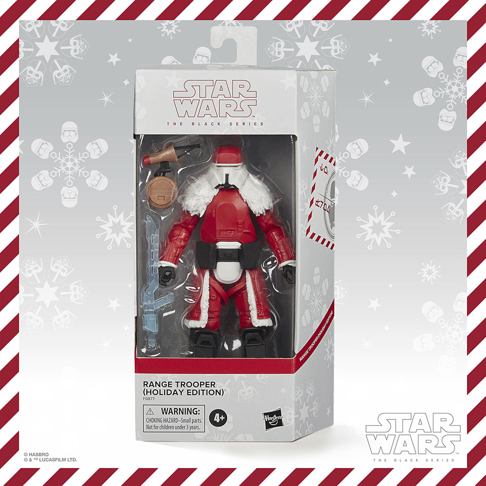 Hasbro PulseCon: holiday range trooper box