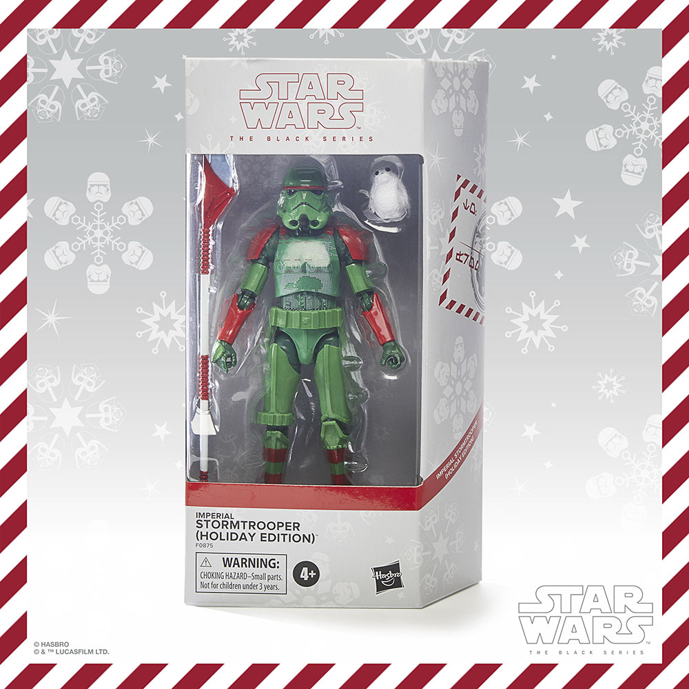 Hasbro PulseCon: holiday Stormtrooper box
