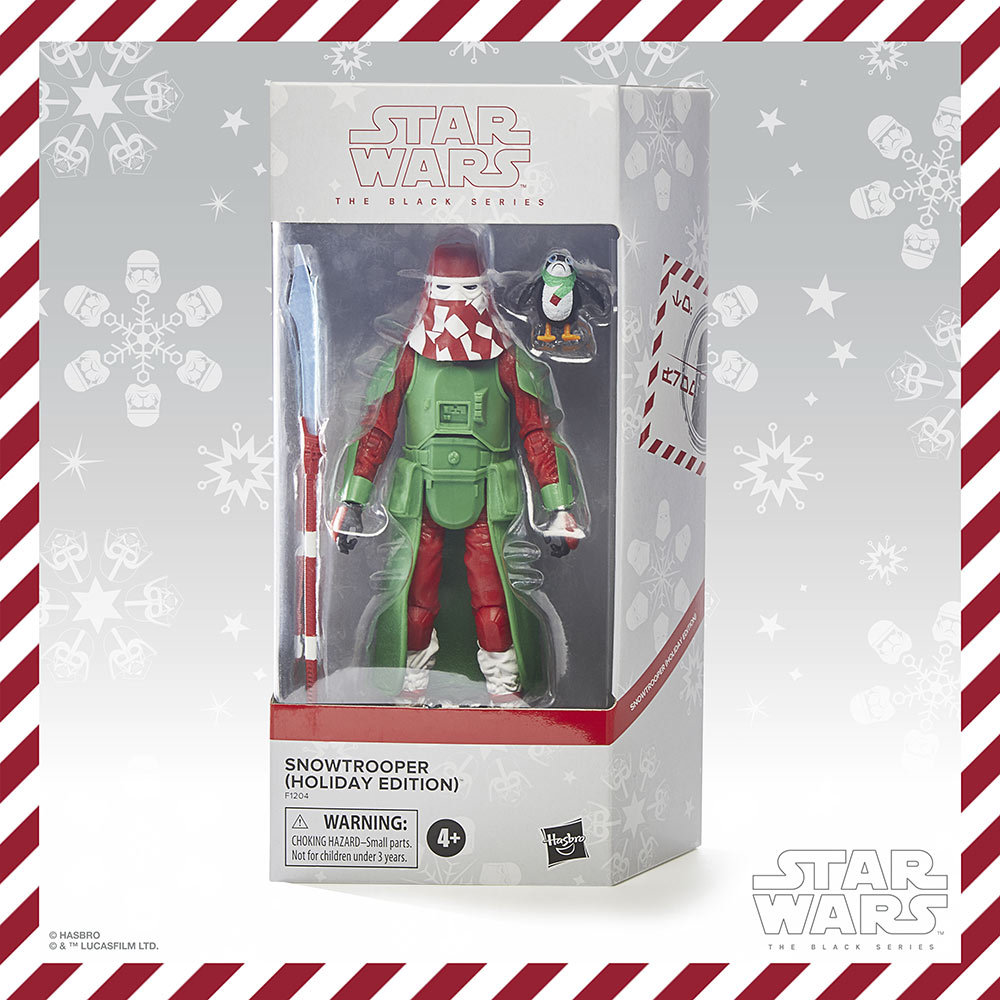 Hasbro PulseCon: holiday snow trooper box