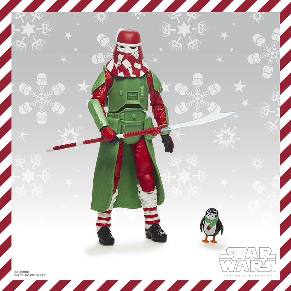 Hasbro PulseCon: holiday snow trooper