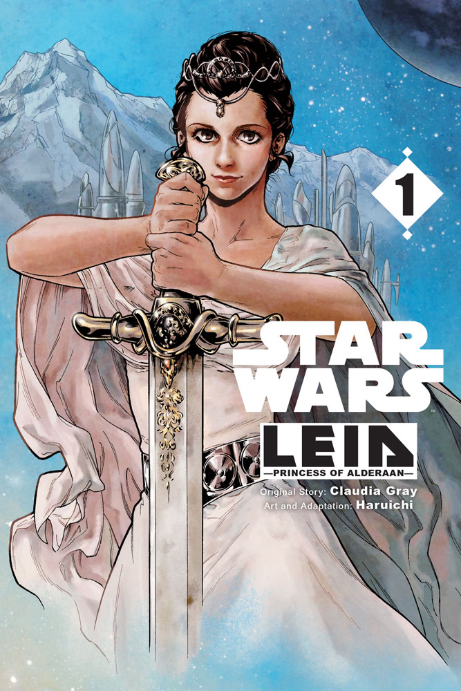 Star Wars Leia, Princess of Alderaan cover