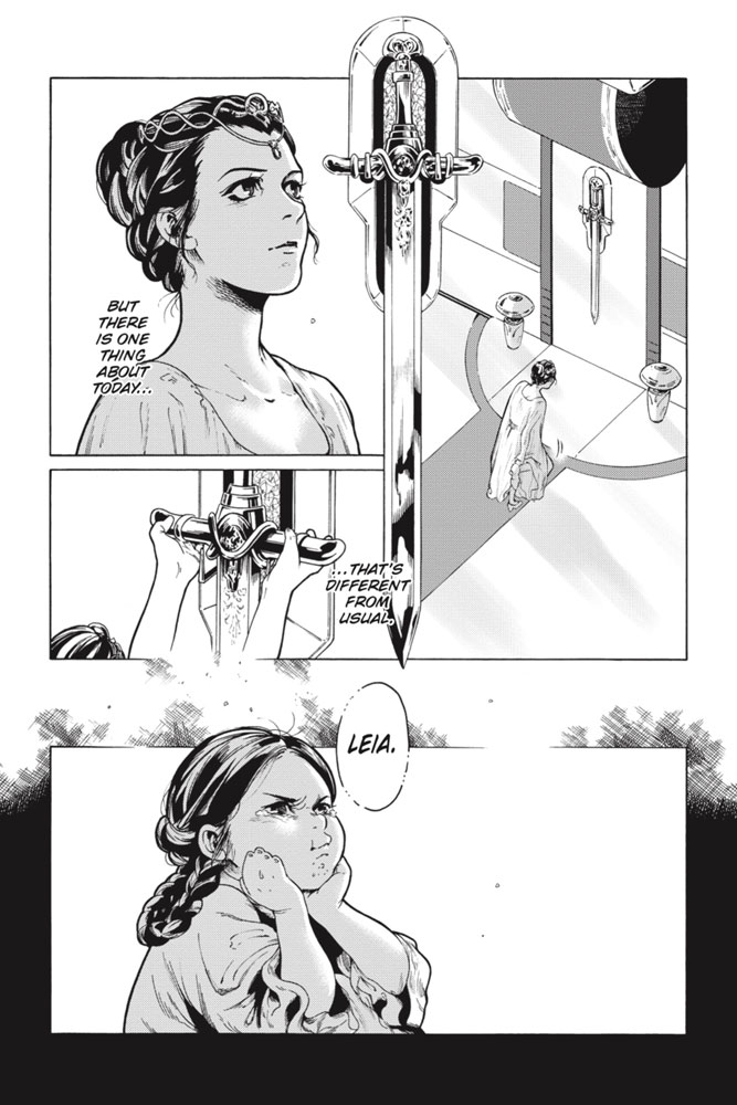 Star Wars Leia, Princess of Alderaan page 4