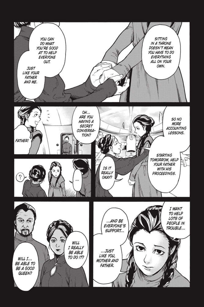 Star Wars Leia, Princess of Alderaan page 8