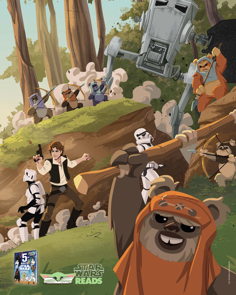 Star Wars Reads 2020 Battle of Endor poster
