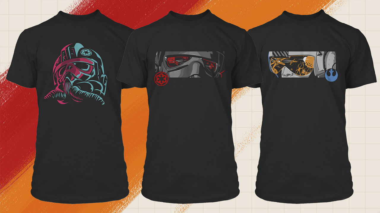 Star Wars: Squadrons pilot tees