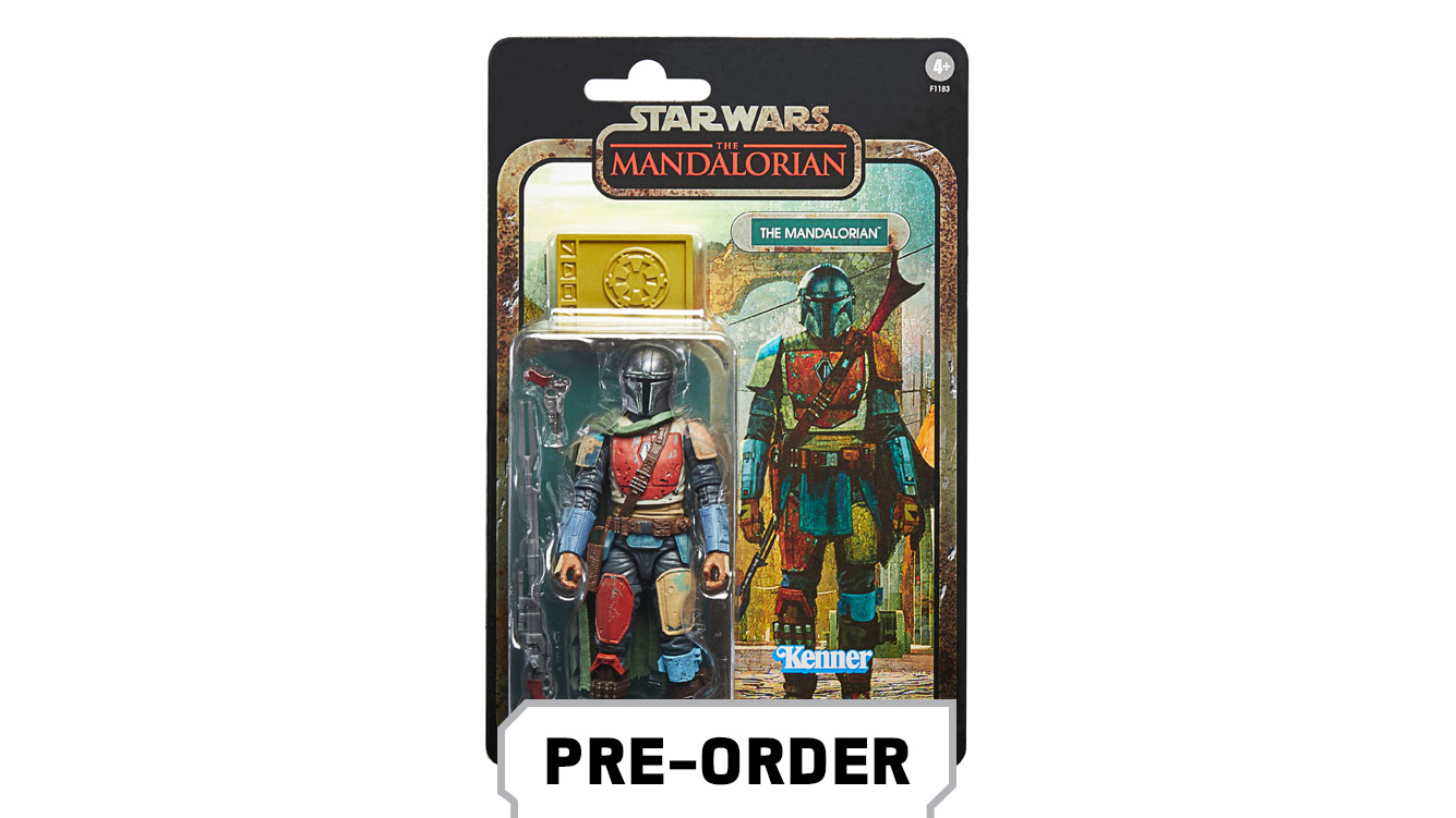 Star Wars: The Black Series Credit Collection 6-Inch The Mandalorian Figure