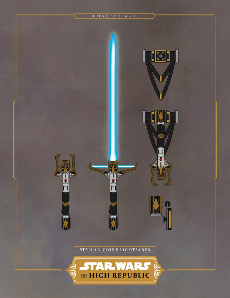 An Elegant Weapon Get An Up Close Look At A Lightsaber From Star Wars The High Republic Exclusive Starwars Com