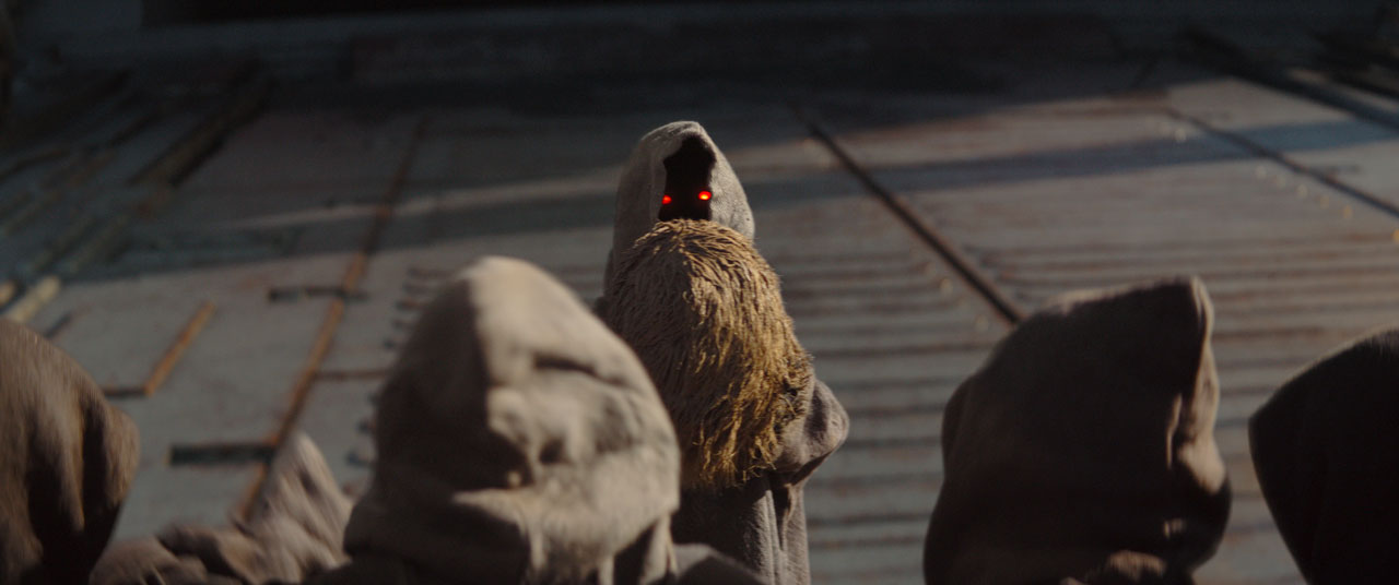Jawas in The Mandalorian CH 2