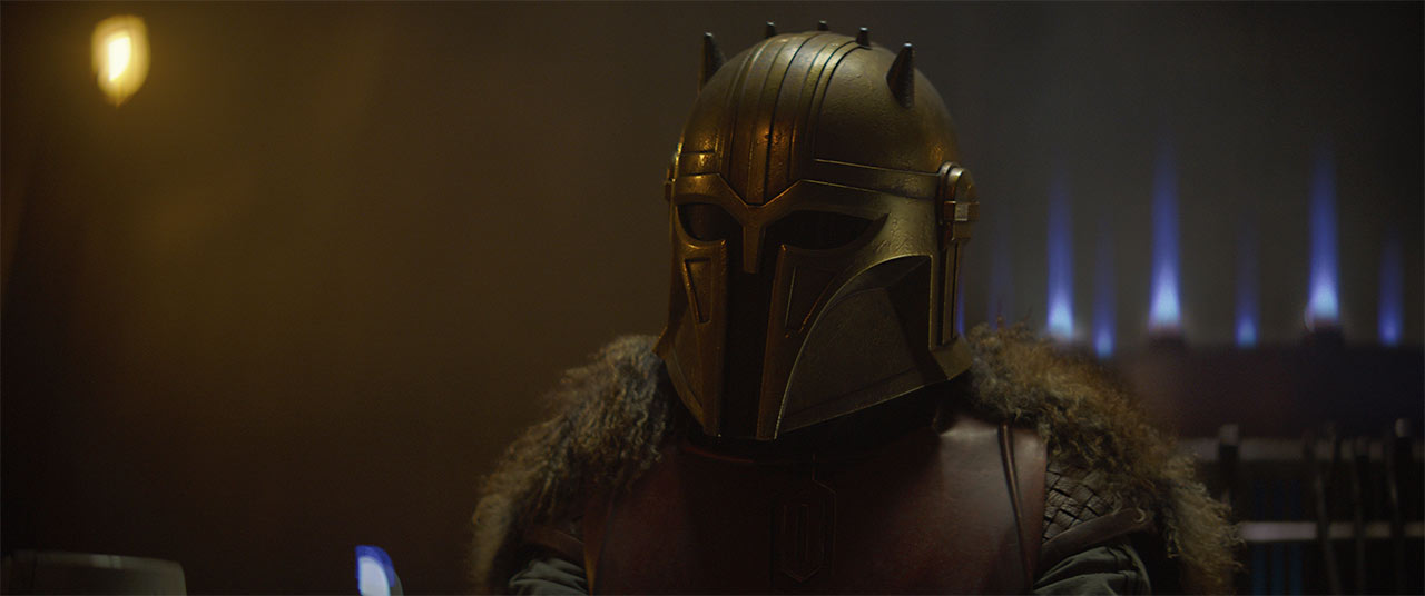 The Armorer from The Mandalorian CH 3