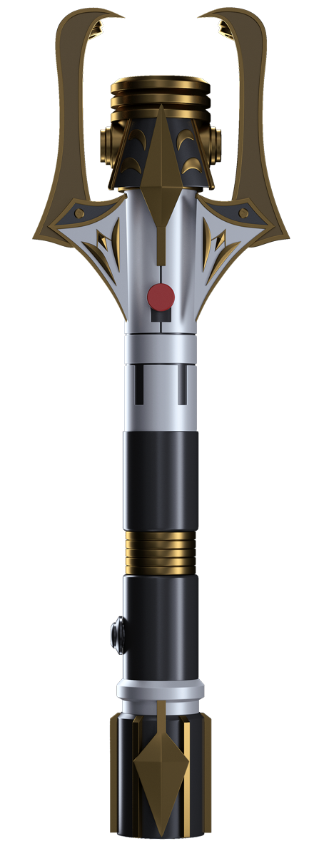 Stellan Gios lightsaber - closed