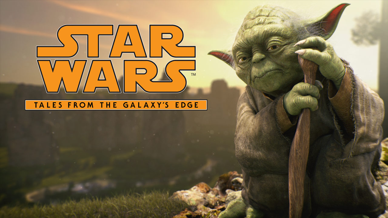 Yoda in Star Wars: Tales from the Galaxy's Edge