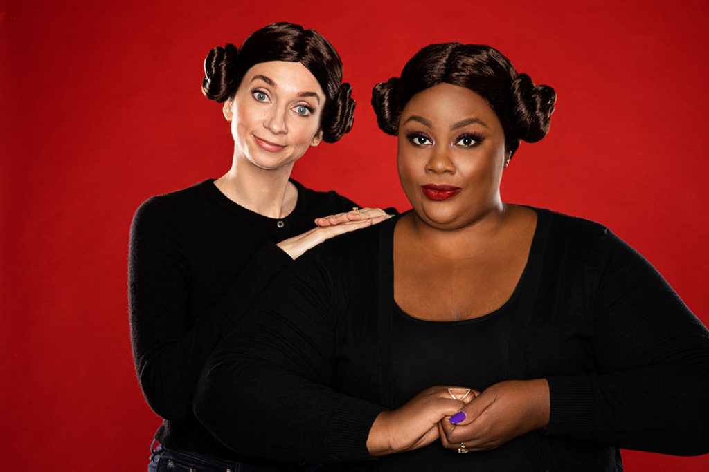 """Lauren Lapkus and Nicole Byer are the """"Newcomers."""""""