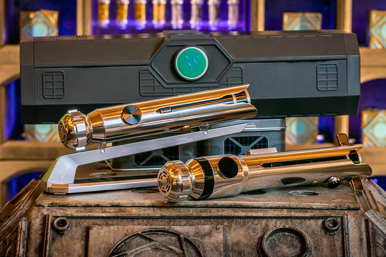 Ahsoka Tano lightsabers from Star Wars: Galaxy's Edge