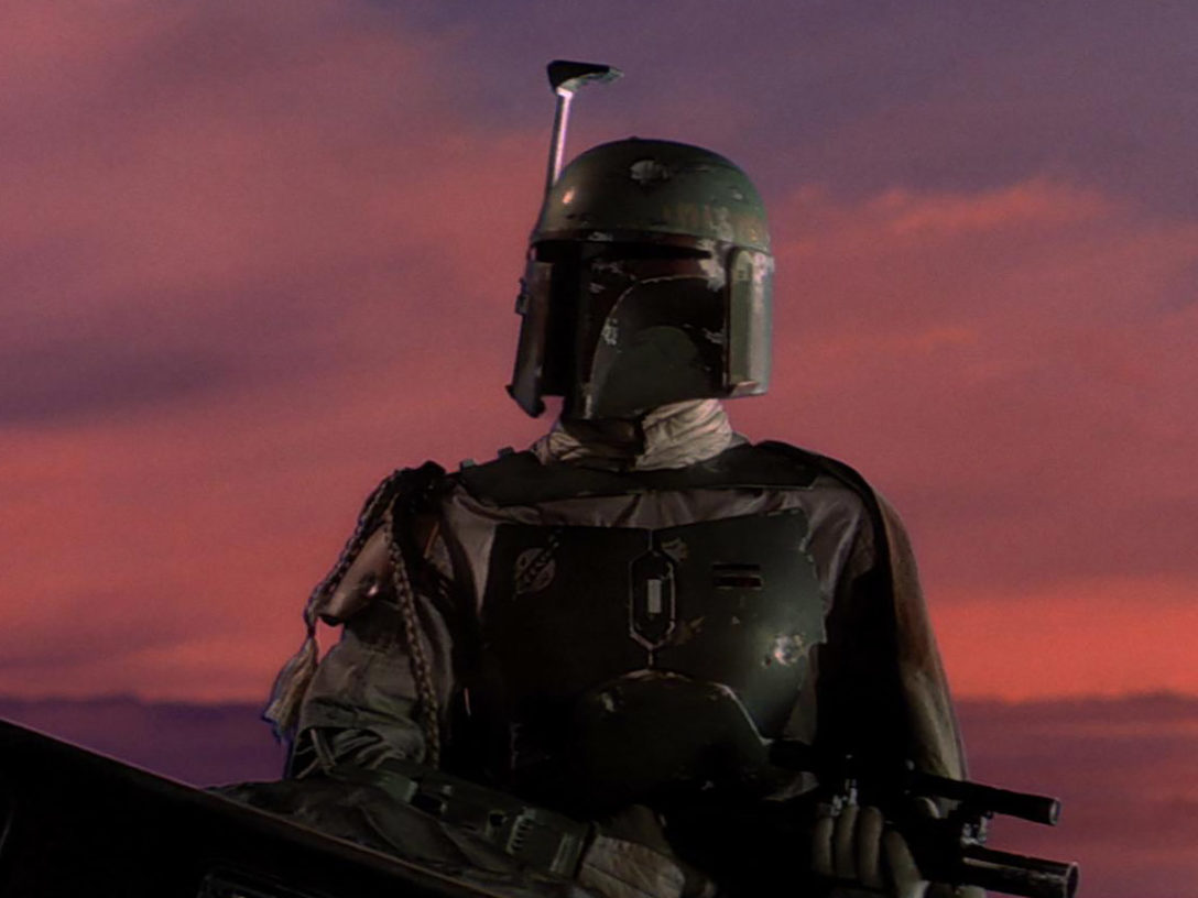 Boba Fett in The Empire Strikes Back