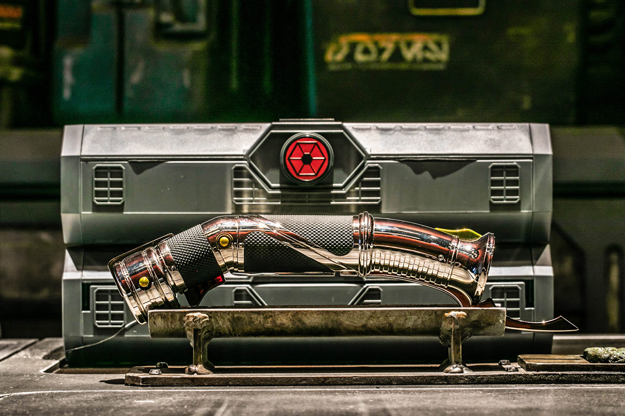 Count Dooku lightsaber from Star Wars: Galaxy's Edge