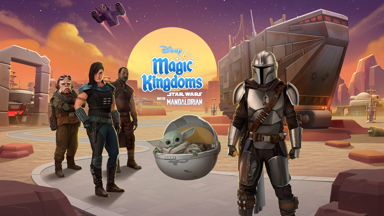 Disney Magic Kingdoms - The Mandalorian key art