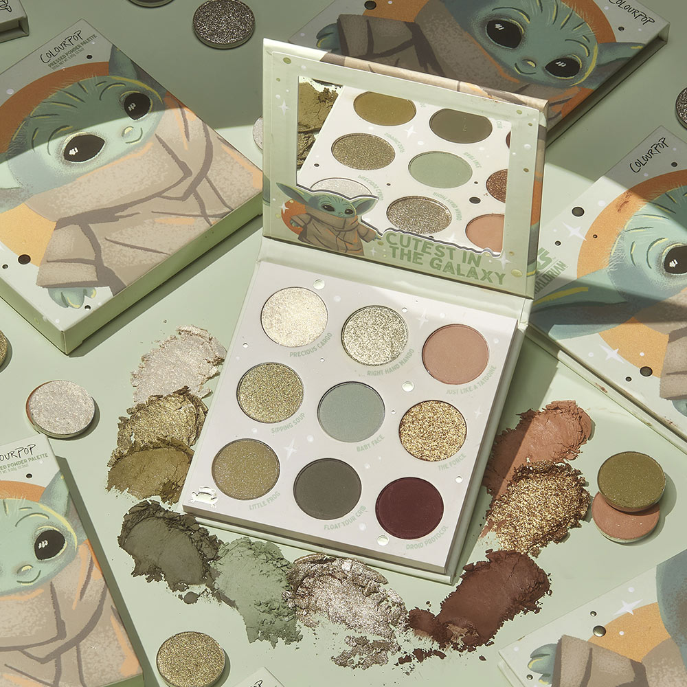ColourPop eye shadows inspired by the Child