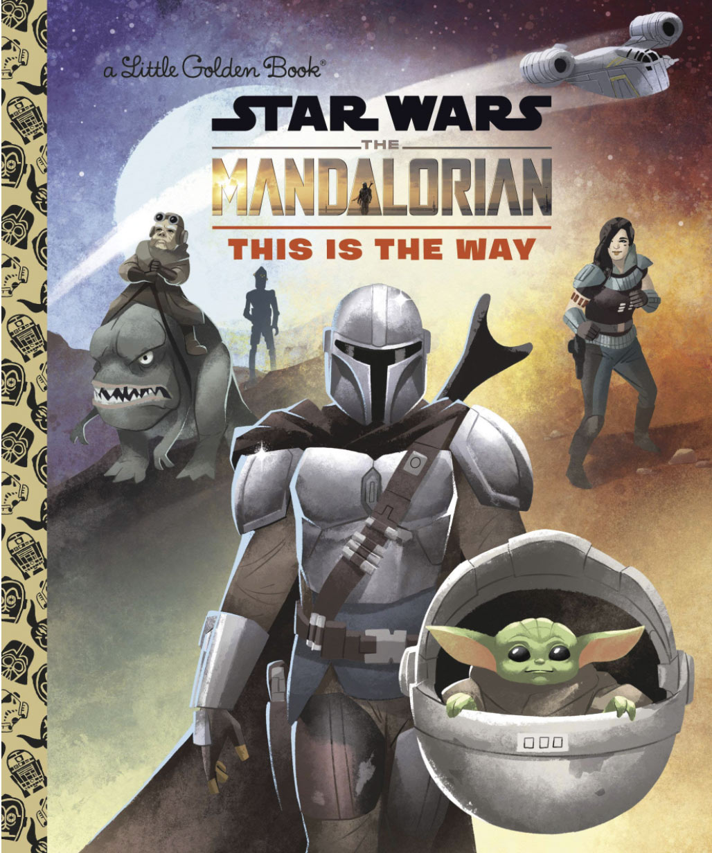Golden Books Mandalorian adventures