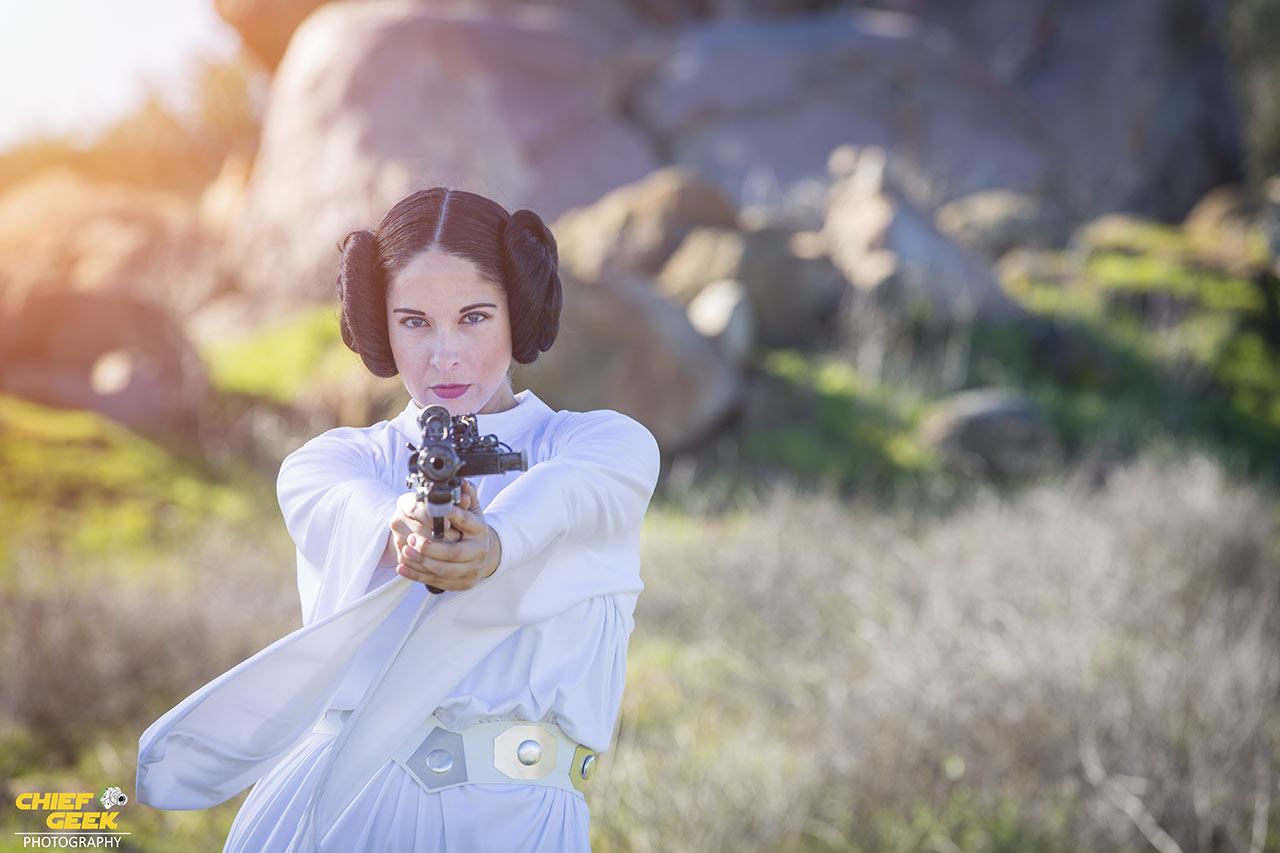 Brandon Jackson's Leia photography