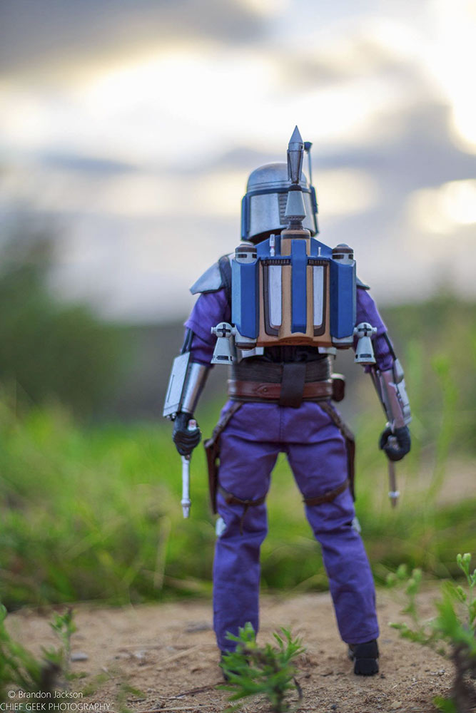 Brandon Jackson's Boba Fett figure photography