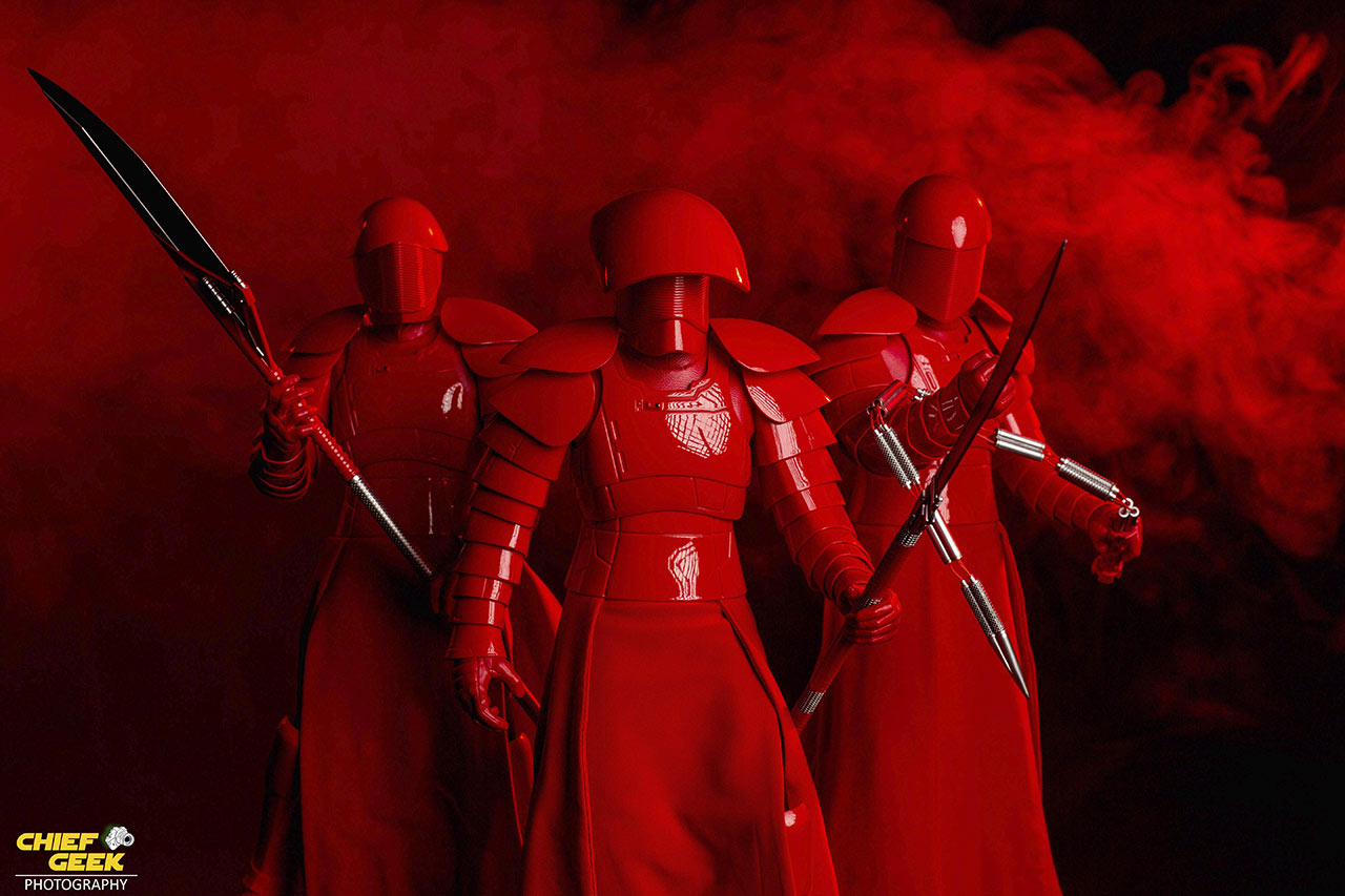 Brandon Jackson's Supreme Leader Snoke's praetorian guards photography