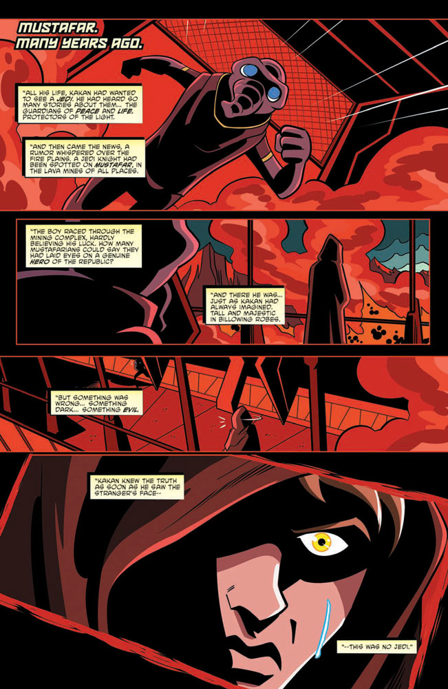 Shadow of Vader's Castle page 3