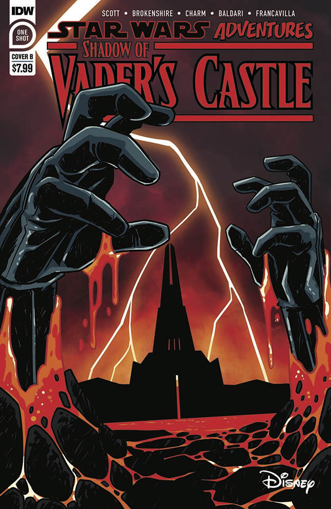 Pages from Shadow of Vader's Castle.