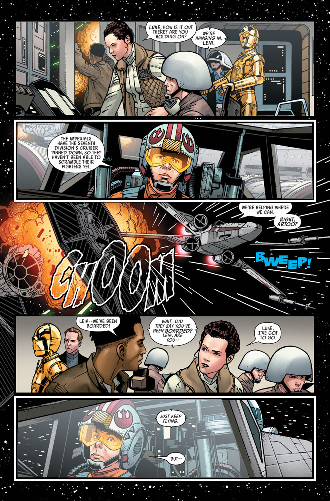 Marvel's Star Wars #8 page 3