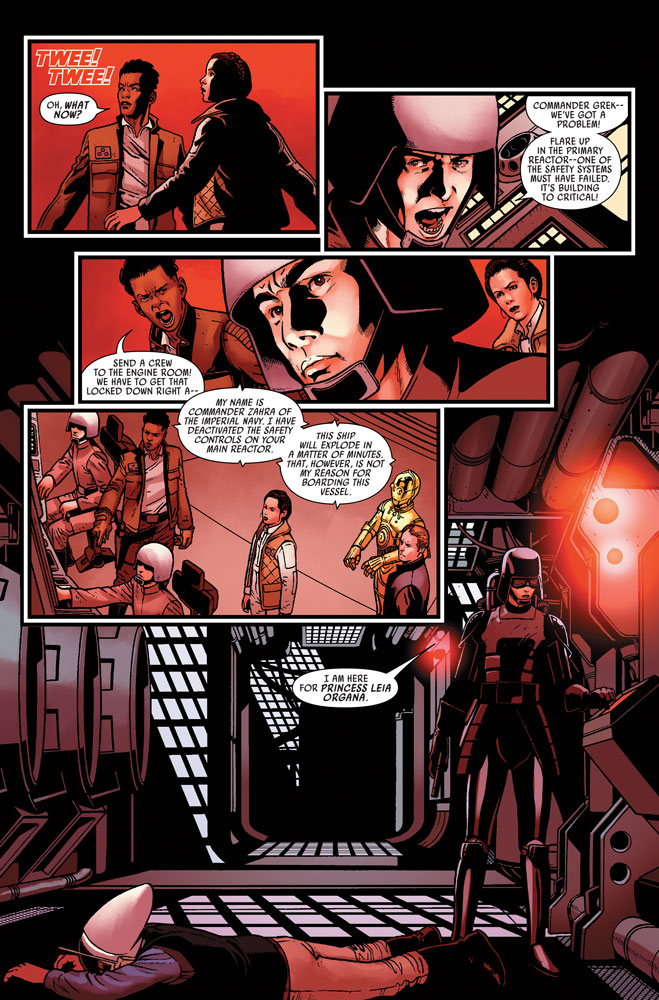 Marvel's Star Wars #8 page 5