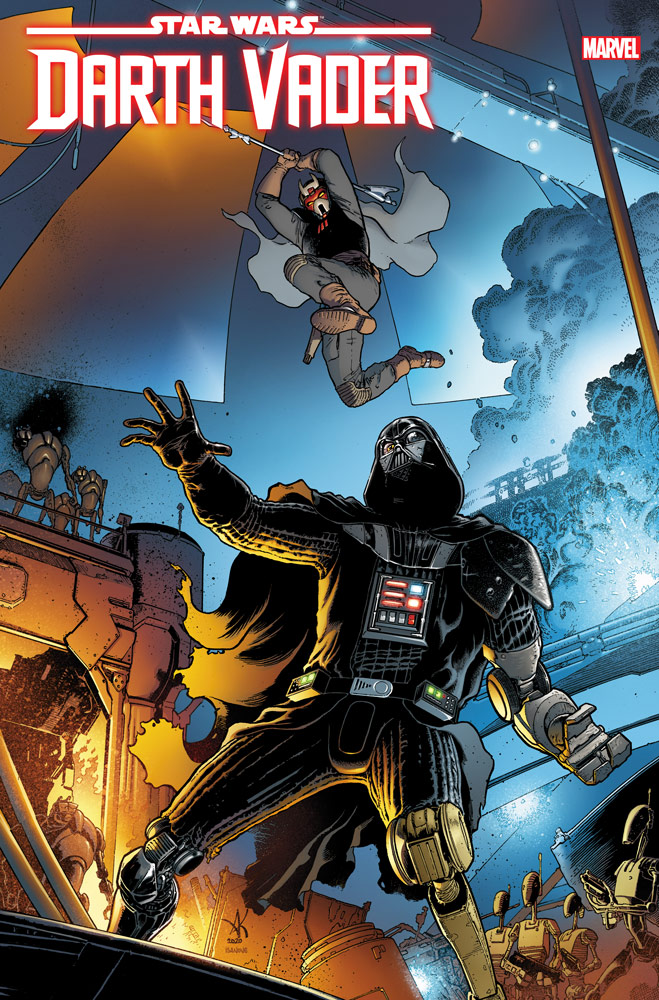 STAR WARS: DARTH VADER #9 cover