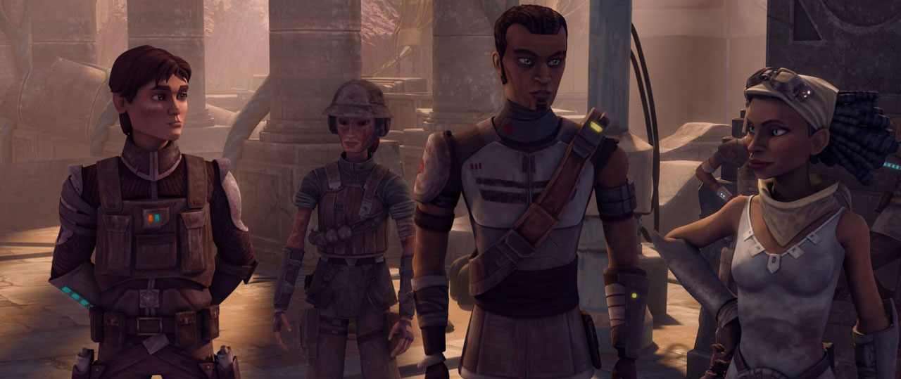 Steela and Saw Gerrera