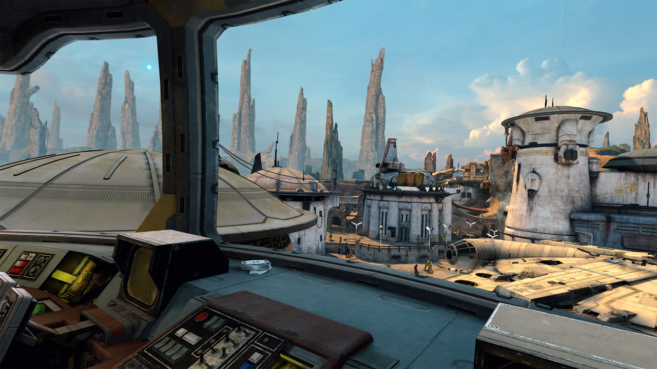 Star Wars: Tales from the Galaxy's Edge - vista