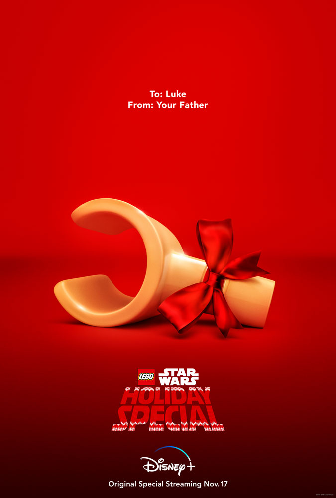 The LEGO Star Wars Holiday Special key art