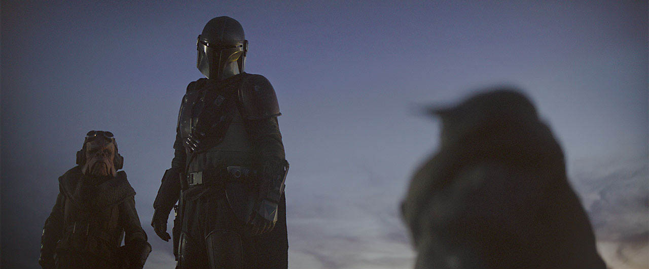 A scene from The Mandalorian CH 2