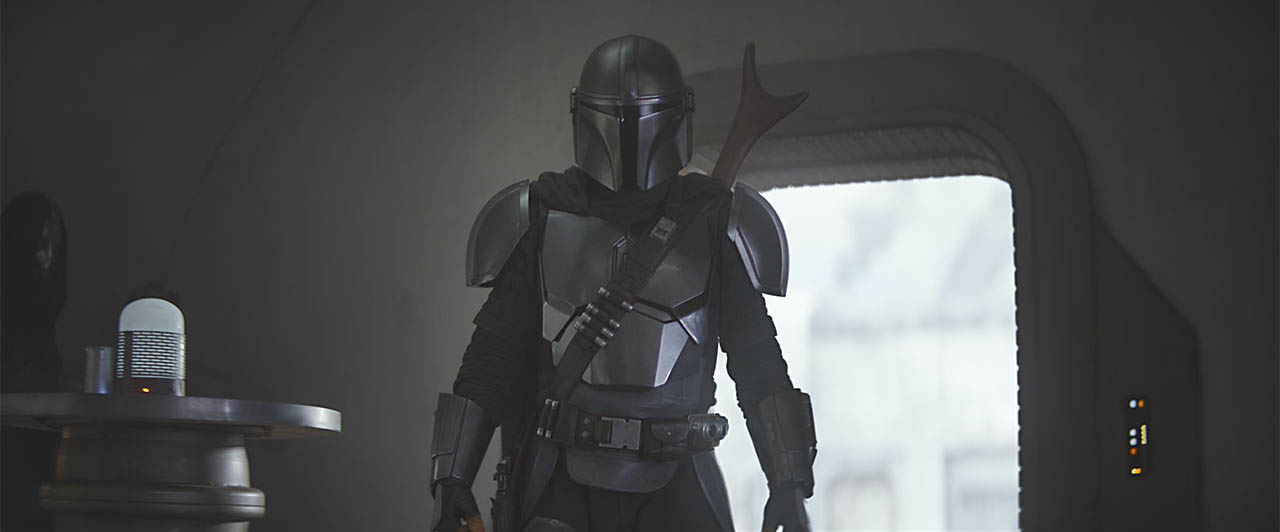 A scene from The Mandalorian CH 3