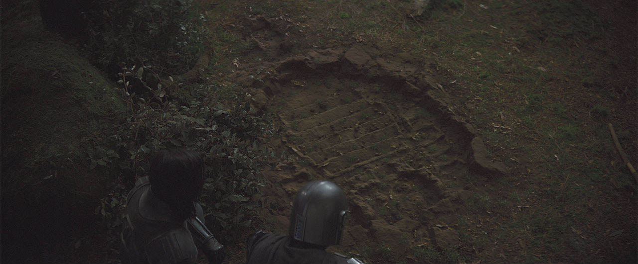 A scene from The Mandalorian CH 4