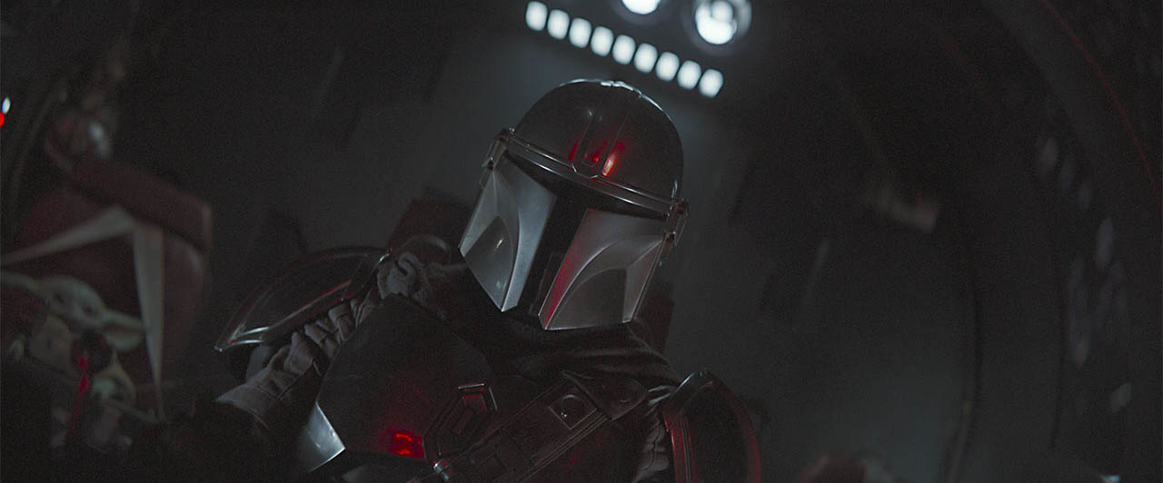 A scene from The Mandalorian CH 5