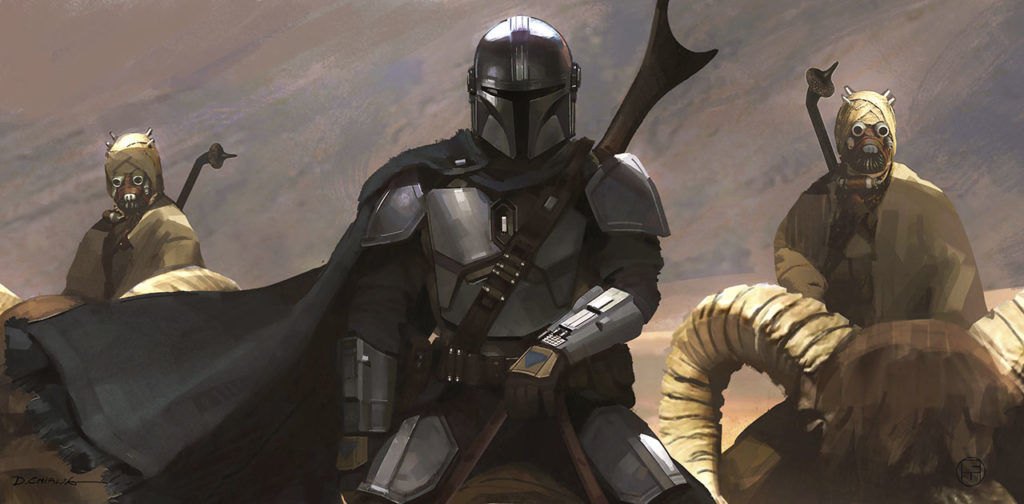 The Mandalorian Chapter 9 concept art by Doug Chiang