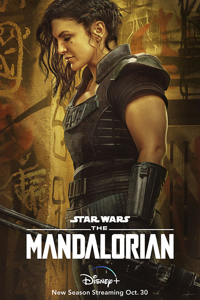 The Mandalorian Season Two character poster - Cara Dune