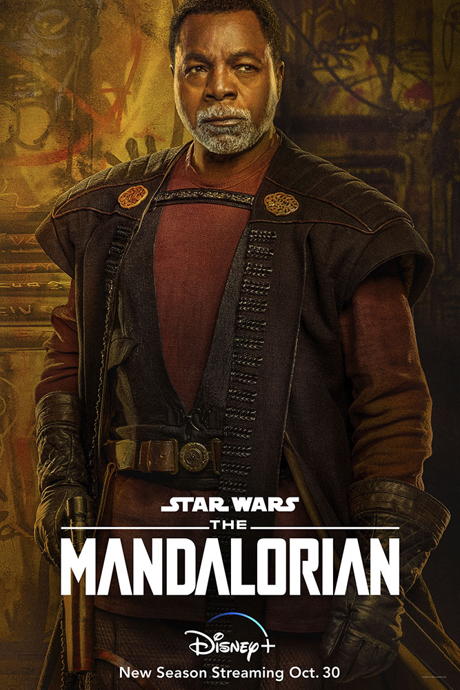 The Mandalorian Season Two character poster - Greef Karga