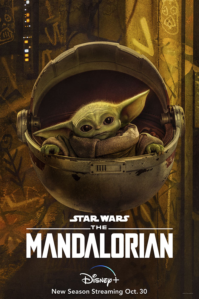 The Mandalorian Season Two character poster - The Child