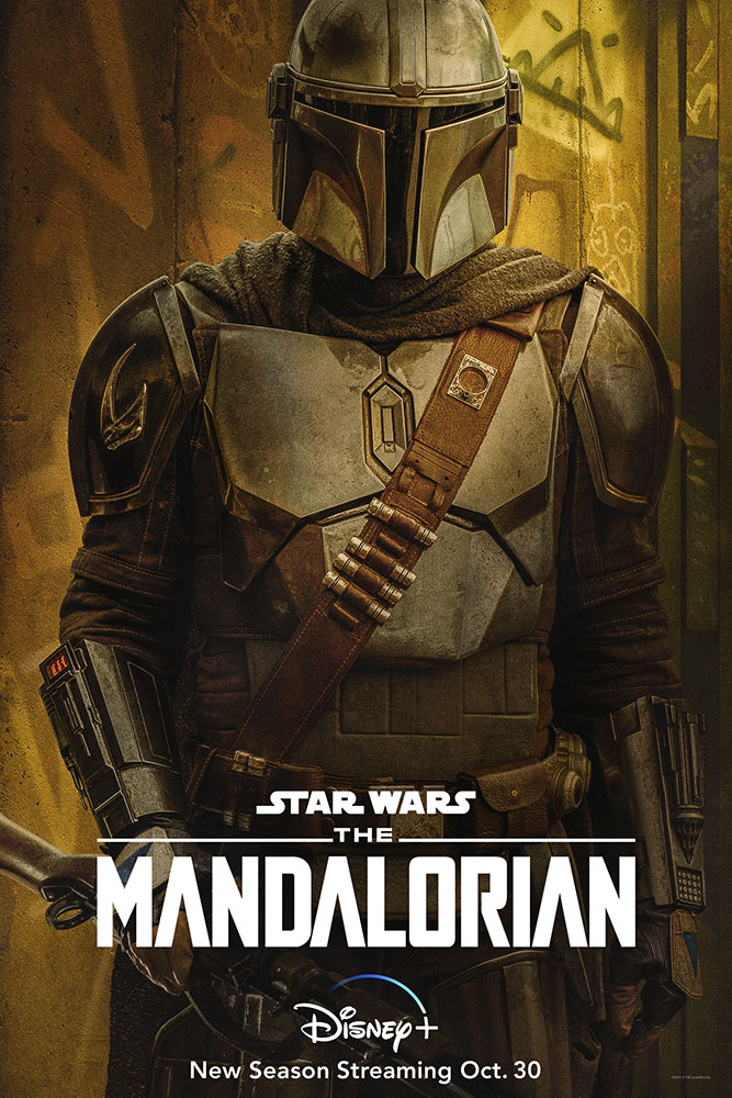 The Mandalorian Season Two character poster - The Mandalorian