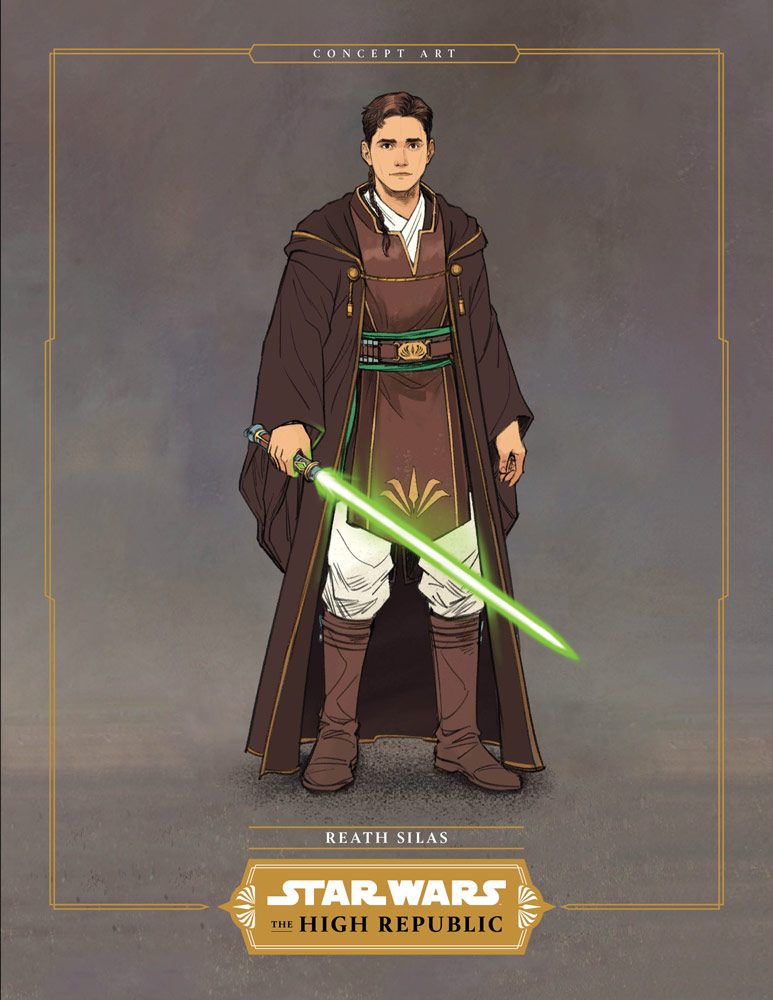 Reath Silas from Star Wars: The High Republic