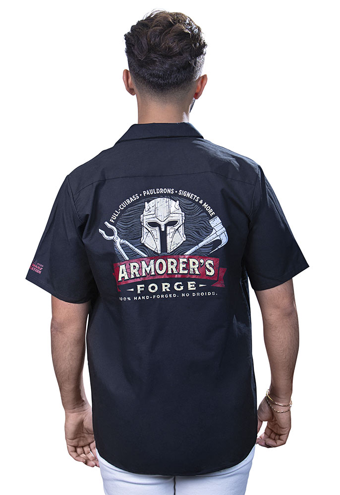 Armorers Forge Shirt back
