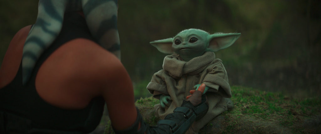Ahsoka and Grogu