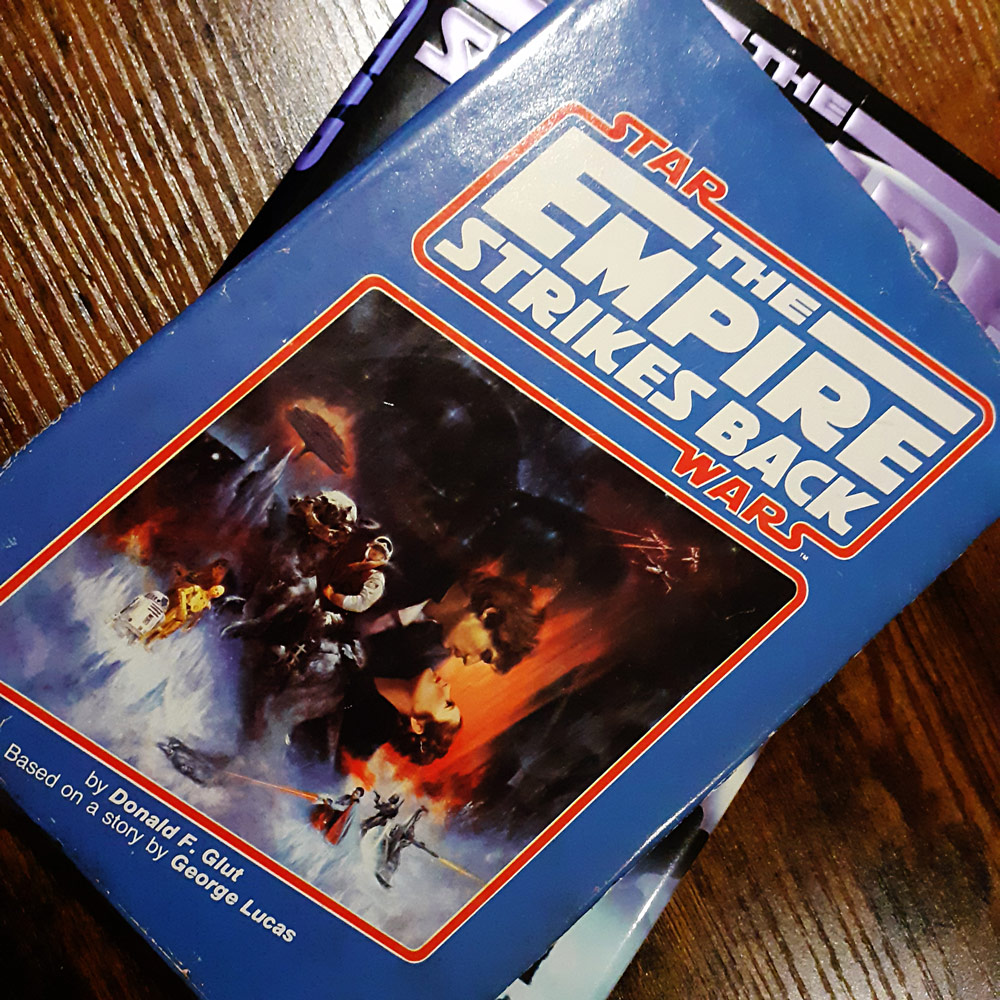 Empire Strikes Back 183-page hardback Book Club edition