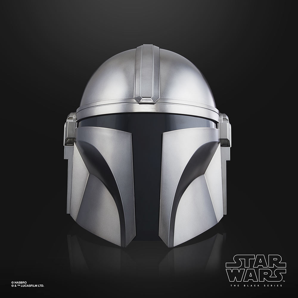 Hasbro's Star Wars The Black Series Mandalorian Electronic Helmet