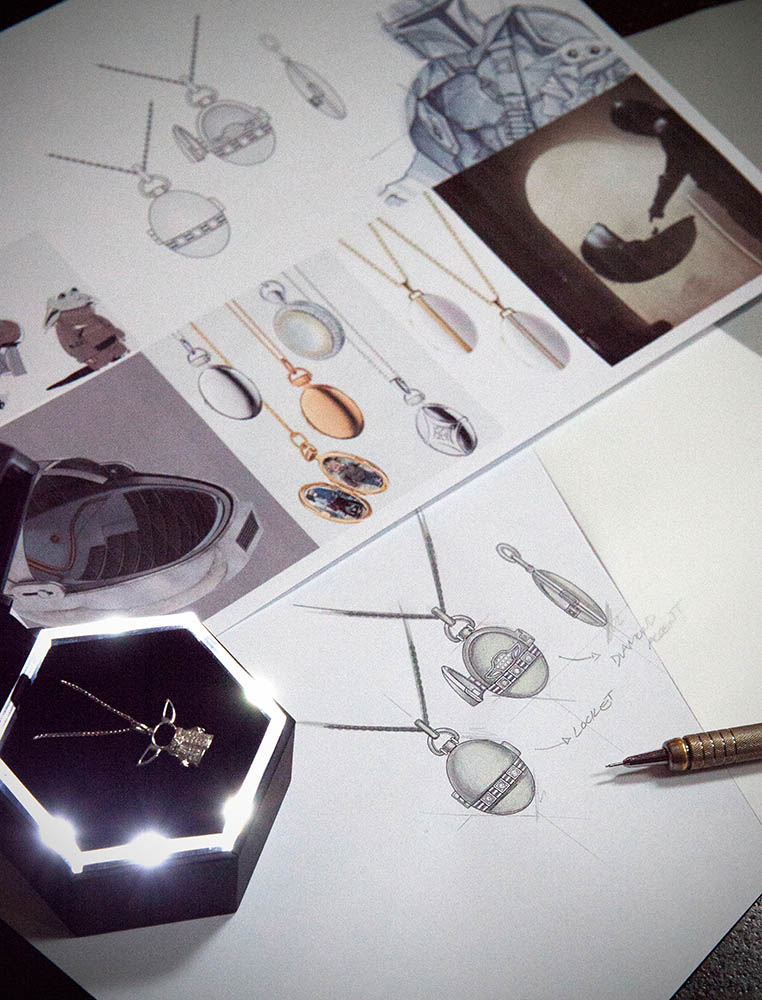 Designing Star Wars Fine Jewelry.