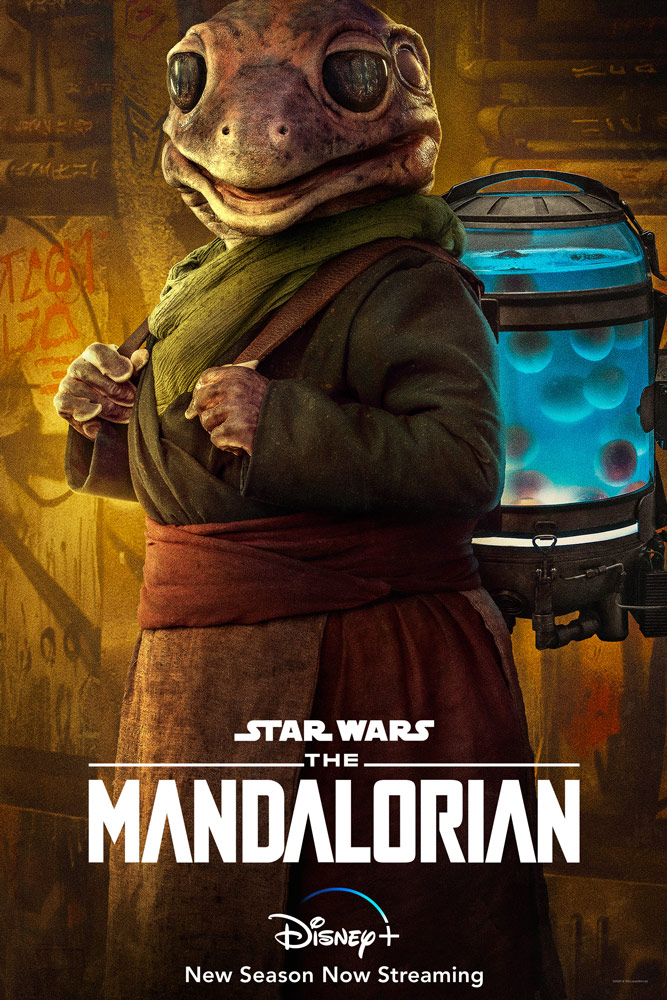 "Frog alien from The Mandalorian - ""Chapter 10: The Passenger"""