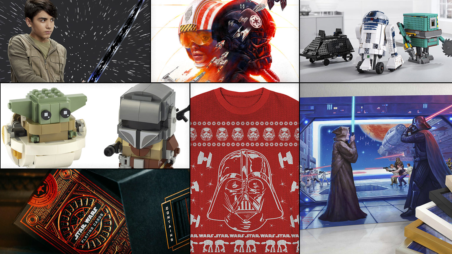 Star Wars holiday products